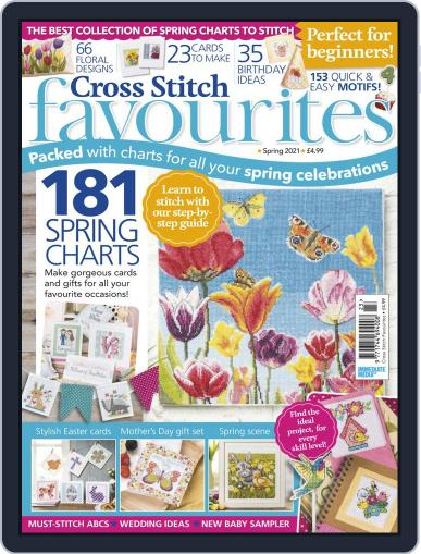 Cross Stitch Favourites Magazine (Digital) February 27th, 2021 Issue Cover