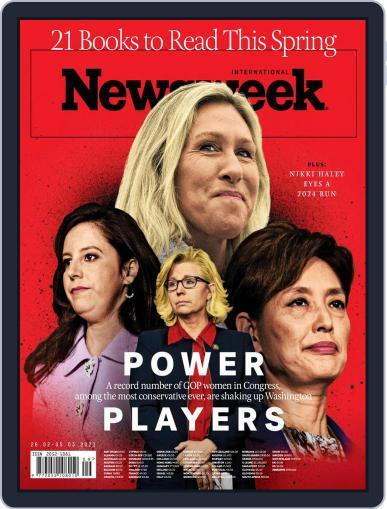 Newsweek International Magazine (Digital) February 26th, 2021 Issue Cover