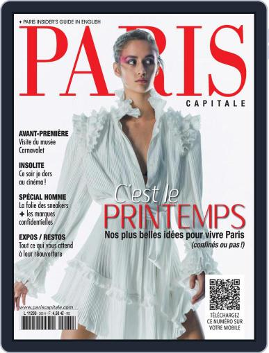 Paris Capitale Magazine (Digital) April 1st, 2021 Issue Cover