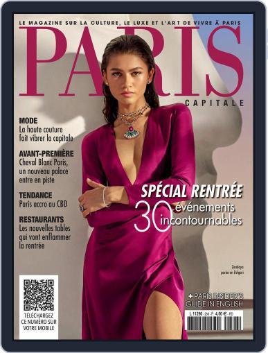 Paris Capitale Magazine (Digital) September 1st, 2021 Issue Cover