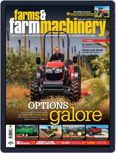 Farms and Farm Machinery Magazine (Digital) December 31st, 2020 Issue Cover