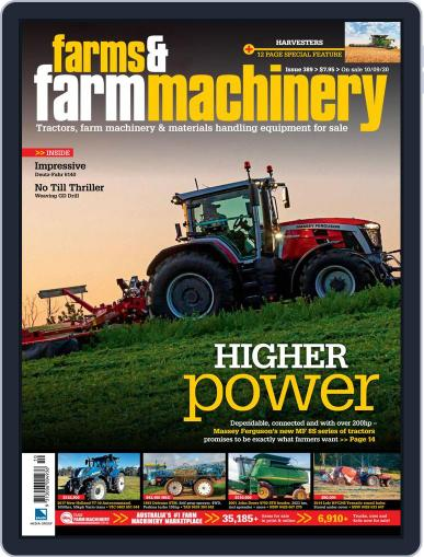 Farms and Farm Machinery Magazine (Digital) September 2nd, 2020 Issue Cover
