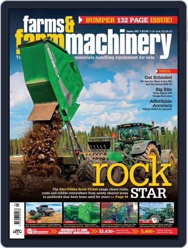 Farms and Farm Machinery Magazine (Digital) April 22nd, 2021 Issue Cover
