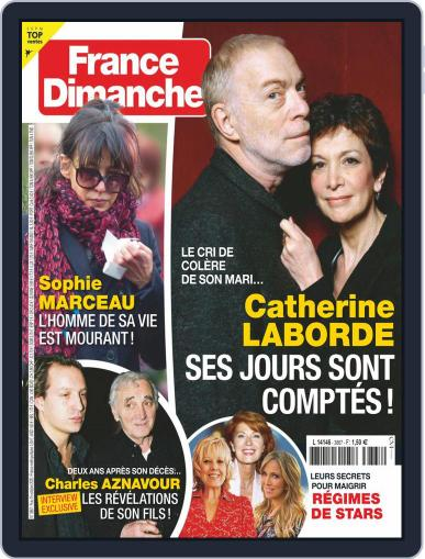 France Dimanche Magazine (Digital) October 9th, 2020 Issue Cover