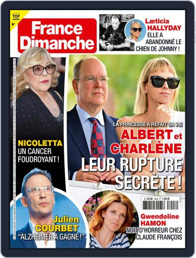 France Dimanche Magazine (Digital) July 23rd, 2021 Issue Cover