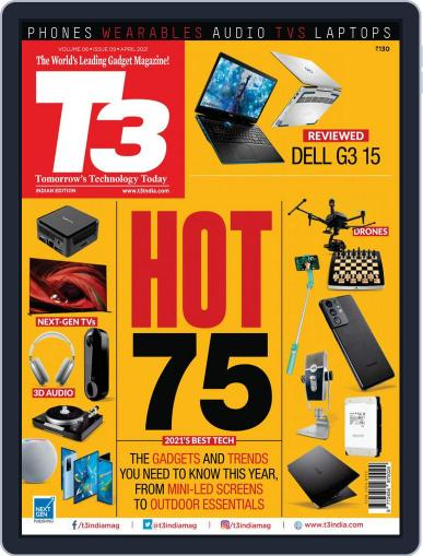 T3 India Magazine (Digital) April 1st, 2021 Issue Cover
