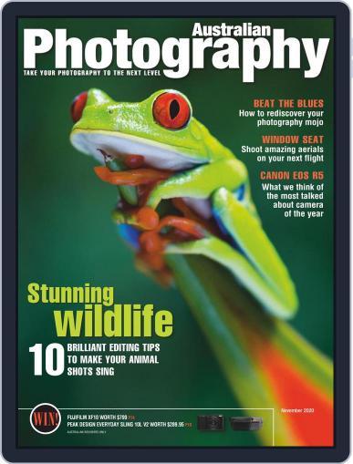 Australian Photography Magazine (Digital) November 1st, 2020 Issue Cover
