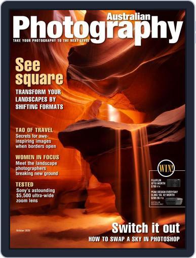 Australian Photography Magazine (Digital) October 1st, 2020 Issue Cover