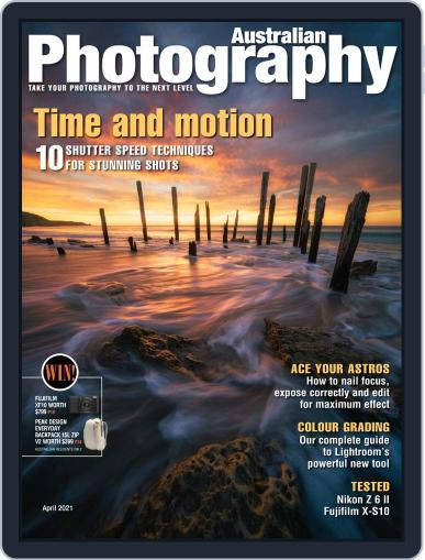 Australian Photography Magazine (Digital) April 1st, 2021 Issue Cover