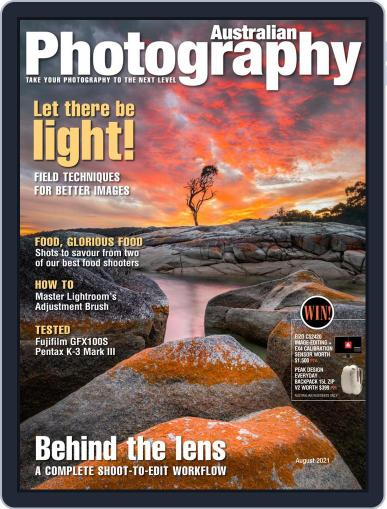 Australian Photography Magazine (Digital) August 1st, 2021 Issue Cover