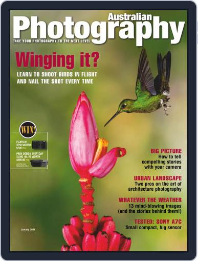 Australian Photography Magazine (Digital) January 1st, 2021 Issue Cover