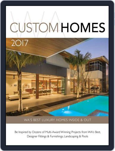 WA CUSTOM HOMES Magazine (Digital) January 1st, 2017 Issue Cover