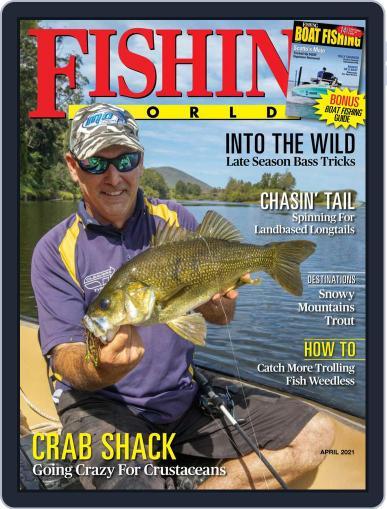 Fishing World Magazine (Digital) April 1st, 2021 Issue Cover