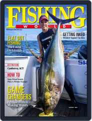 Fishing World Magazine (Digital) Subscription August 1st, 2021 Issue