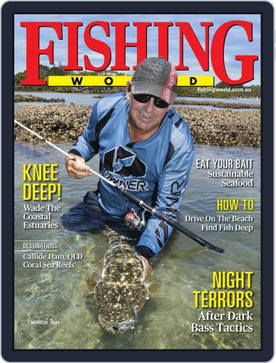 Fishing World Magazine (Digital) March 1st, 2021 Issue Cover