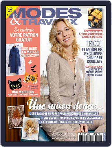 Modes & Travaux Magazine (Digital) November 1st, 2021 Issue Cover