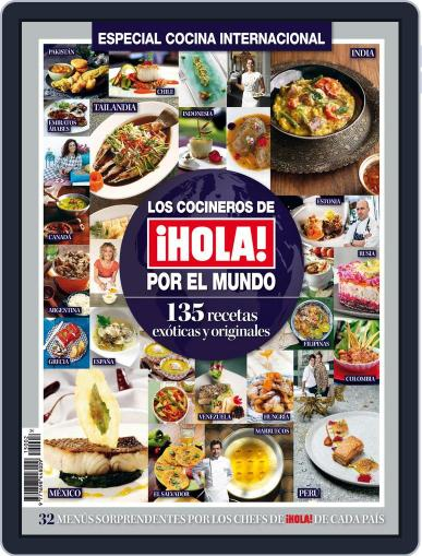 Hola! Especial Cocina Internacional Magazine (Digital) July 23rd, 2015 Issue Cover