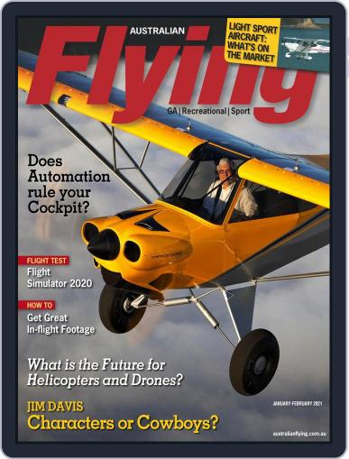 Australian Flying Magazine (Digital) January 1st, 2021 Issue Cover