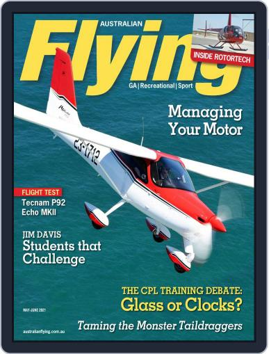 Australian Flying Magazine (Digital) May 1st, 2021 Issue Cover