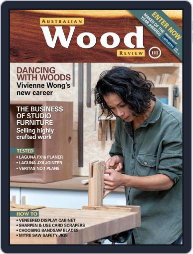 Australian Wood Review Magazine (Digital) June 1st, 2021 Issue Cover