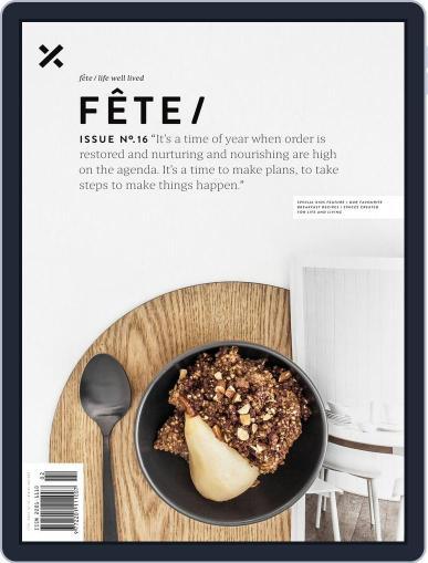 Fête April 1st, 2016 Digital Back Issue Cover