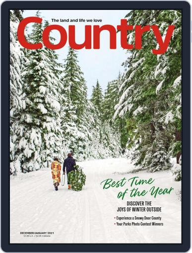 Country Magazine (Digital) December 1st, 2020 Issue Cover