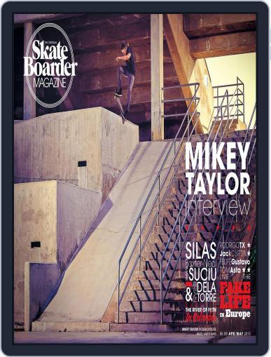 Skateboarder April 1st, 2013 Digital Back Issue Cover