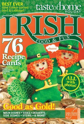 Taste Of Home Irish Food & Fun (Digital) March 13th, 2012 Issue Cover