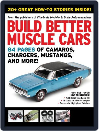 Build Better Muscle Cars November 1st, 2012 Digital Back Issue Cover