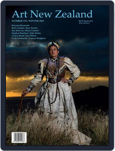 Art New Zealand Magazine (Digital) May 1st, 2021 Issue Cover