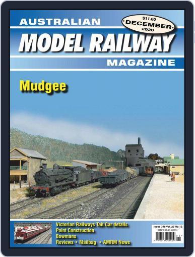 Australian Model Railway Magazine (Digital) December 1st, 2020 Issue Cover