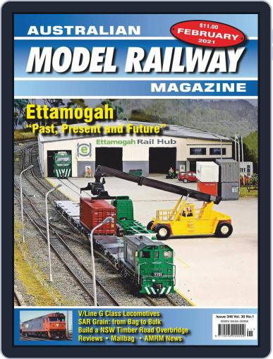 Australian Model Railway Magazine (Digital) February 1st, 2021 Issue Cover