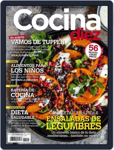 COCINA DIEZ Magazine (Digital) September 1st, 2021 Issue Cover