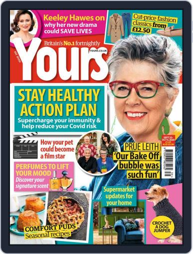 Yours Magazine (Digital) September 22nd, 2020 Issue Cover