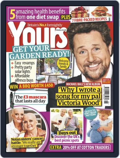 Yours Magazine (Digital) May 4th, 2021 Issue Cover
