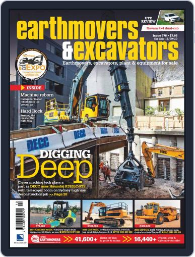 Earthmovers & Excavators Magazine (Digital) September 8th, 2020 Issue Cover