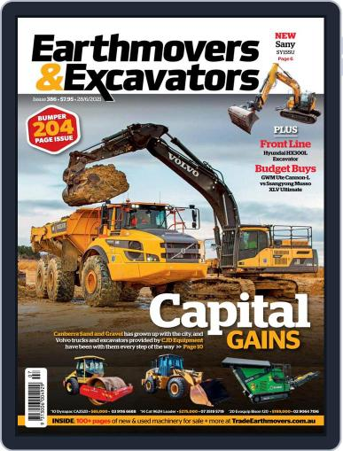 Earthmovers & Excavators Magazine (Digital) June 28th, 2021 Issue Cover