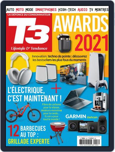 T3 Gadget Magazine France Magazine (Digital) July 1st, 2021 Issue Cover