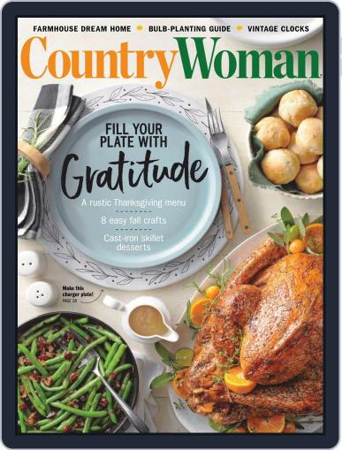 Country Woman Magazine (Digital) October 1st, 2020 Issue Cover
