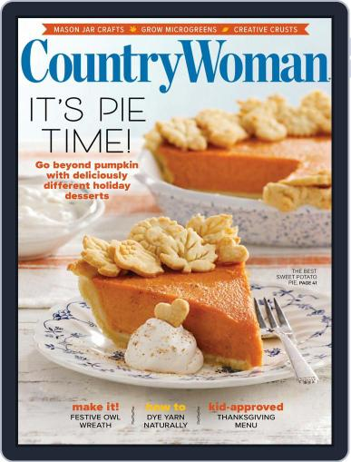 Country Woman Magazine (Digital) October 1st, 2021 Issue Cover