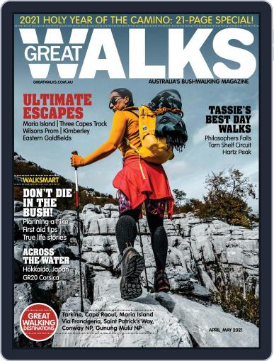 Great Walks Magazine (Digital) April 1st, 2021 Issue Cover