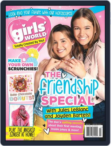 Girls' World Magazine (Digital) March 1st, 2021 Issue Cover