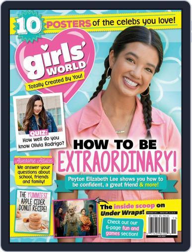 Girls' World Magazine (Digital) November 1st, 2021 Issue Cover