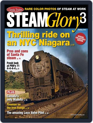 Steam Glory 3 November 16th, 2012 Digital Back Issue Cover