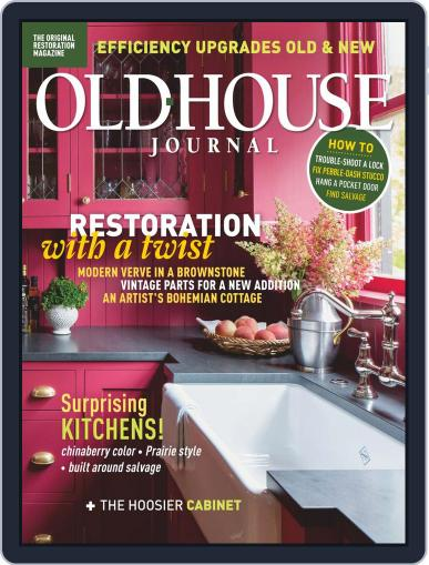 Old House Journal Magazine (Digital) October 1st, 2020 Issue Cover