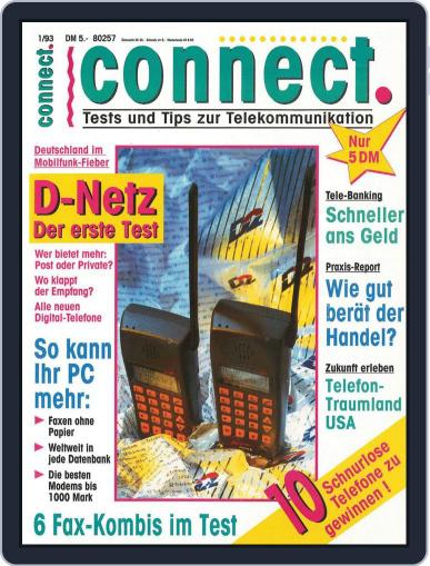 Connect Erstausgabe 1/1993 May 10th, 2013 Digital Back Issue Cover