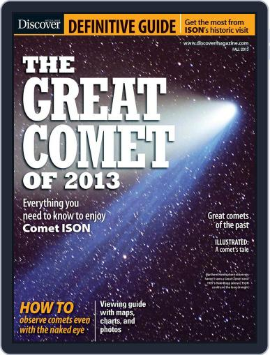 The Great Comet Of 2013 September 20th, 2013 Digital Back Issue Cover
