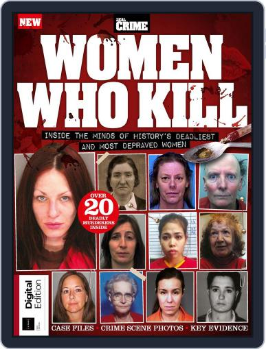 Women Who Kill June 1st, 2018 Digital Back Issue Cover
