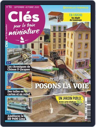 Clés pour le train miniature Magazine (Digital) September 1st, 2020 Issue Cover