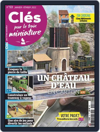 Clés pour le train miniature Magazine (Digital) January 1st, 2021 Issue Cover